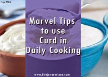 Marvel Tips To Use Curd In Daily Cooking (Summer Special) - Plattershare - Recipes, Food Stories And Food Enthusiasts