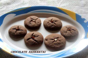 Chocolate Nankhatai - Plattershare - Recipes, Food Stories And Food Enthusiasts