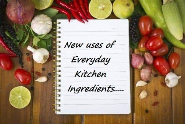 New Uses For Everyday Kitchen Ingredients - Plattershare - Recipes, Food Stories And Food Enthusiasts