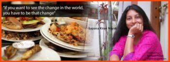 Unsung Hero- Sapna Kiran Nayak Who Made Sure No Food Is Wasted. - Plattershare - Recipes, Food Stories And Food Enthusiasts