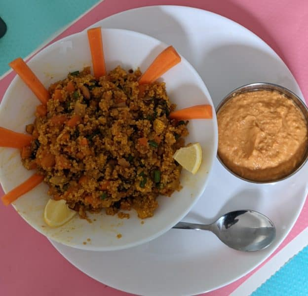 Quinoa Bowl (Baby Corn, Carrot, Beans, Tomato Puree And Cashew Nuts) - Plattershare - Recipes, Food Stories And Food Enthusiasts